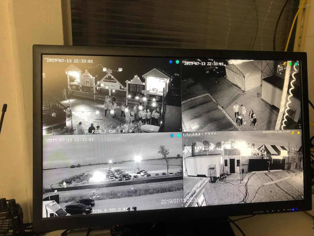 Camera beveiliging. Duurzame en veilige oplossing